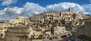 Panoramica della città di Matera