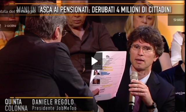 Daniele Regolo Quinta Colonna