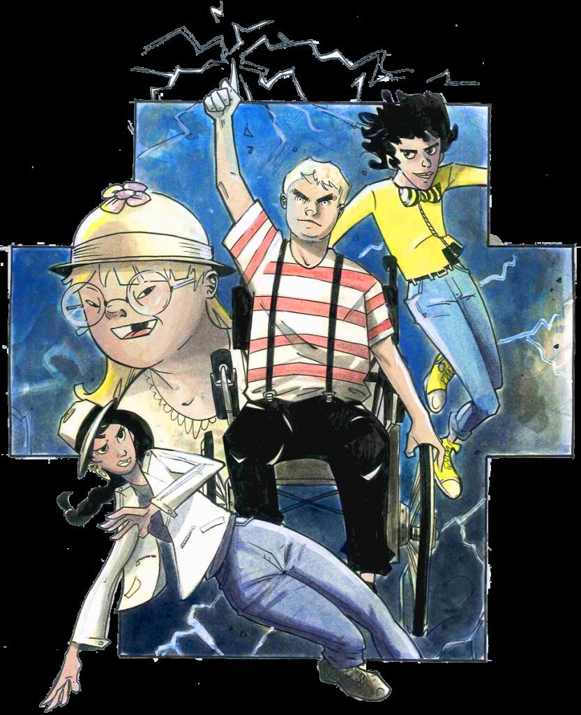 Four Energy Heros