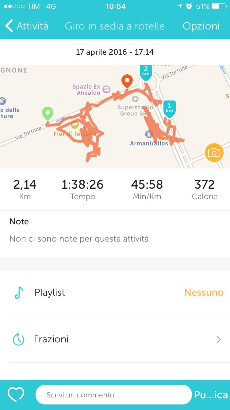 Runkeeper l 39 app per lo sport su sedia a rotelle for Fisico sedia a rotelle