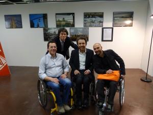 Antonio, Daniele, Andrea e Danilo in un'edizione di Gitando All