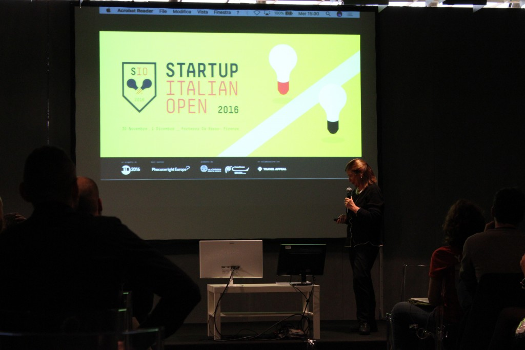 Cetty Ummarino presenta B&B Like Your Home allo Startup Italian Open 2016