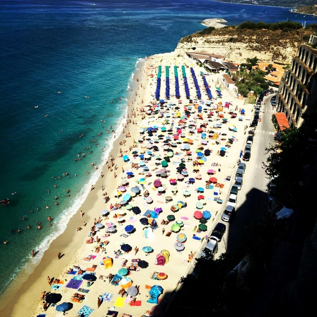 Veduta dall'alto di Tropea