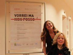 """Alessia Bottone e Valentina Bazzani alla presentazione di """"Vorrei ma non posso"""""""