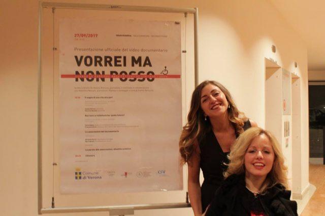 Alessia Bottone e Valentina Bazzani alla presentazione di